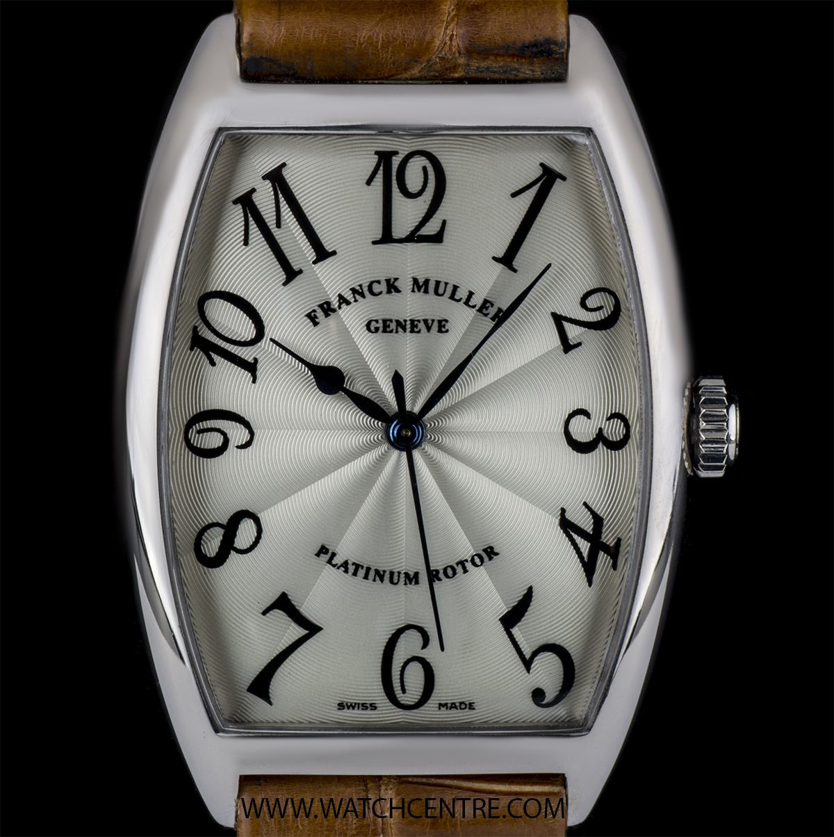 3c903e80 Franck Muller 18k White Gold Cintree Curvex Gents Wristwatch 2852SC  #FranckMuller #WhiteGold #Timepiece #Luxury #WatchCentre #NewBondStreet  #Mayfair #London