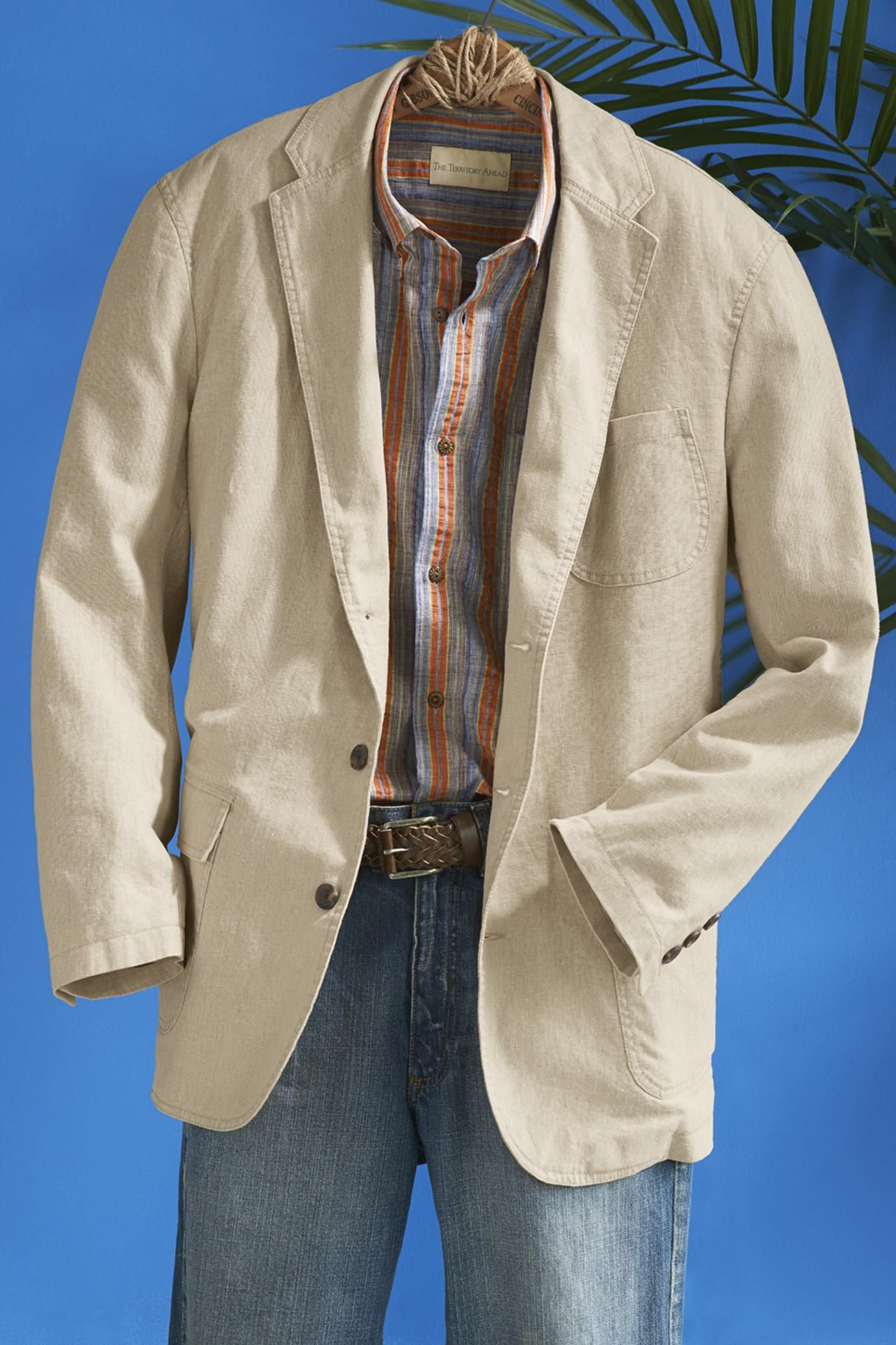 Calistoga Linen-Cotton Sport Coat: Exceptional Casual Clothing for ...