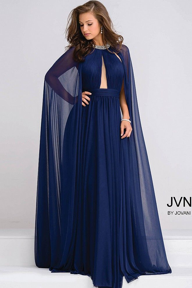 8967ac89b91 Navy is a trending color choice for prom 2017. There are the top 5 navy  colored prom gowns including two pieces