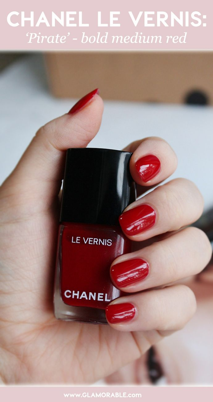 Pin by Liz Kreisler on Chanel | Pinterest | Bright red nails, Pirate ...