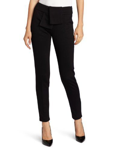 C. Luce Women's Seam Fitted Straight Leg Trousers C. Luce. $45.00. Machine Wash. Layered flap at the waist. Straight leg fitted trousers. 85% Polyester/10% Rayon/5% Spandex. Made in China