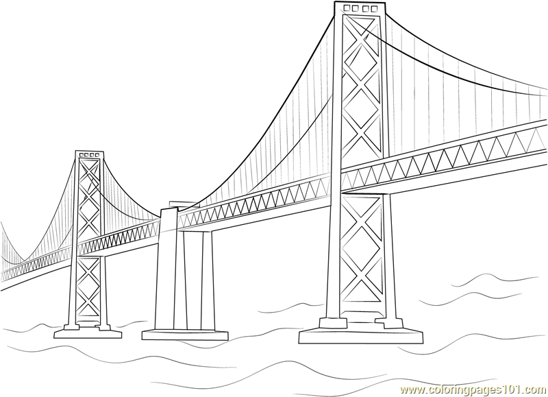 down the bay coloring pages | historic bridges coloring sheets - Yahoo Image Search ...
