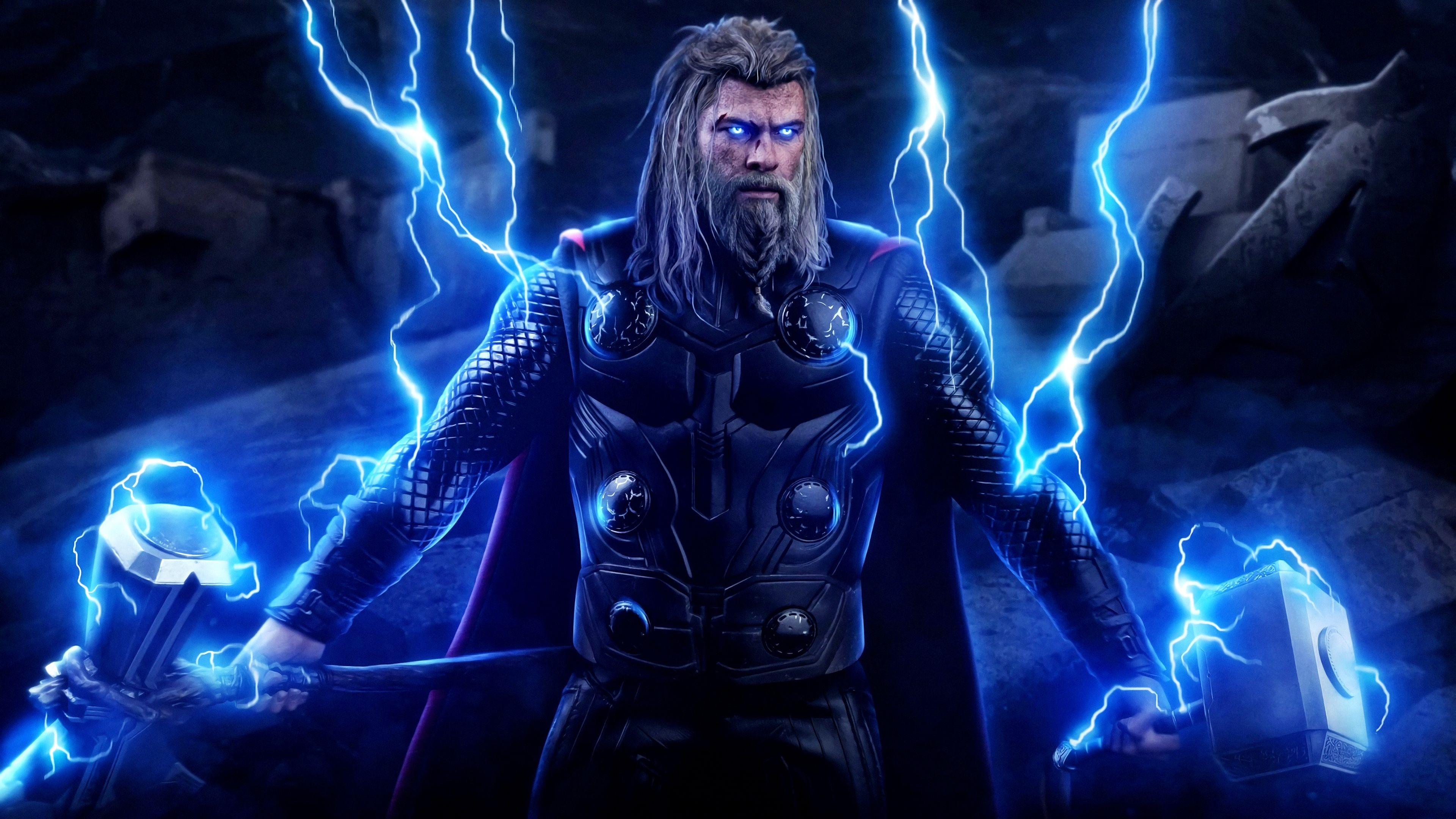Endgame 4k Wallpaper Mobile Ideas In 2020 Thor Wallpaper New Thor Chris Hemsworth