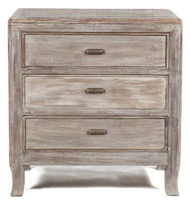 Caelyn Acacia Wood End Table Wood: Acacia | Finish: Whitewash ...
