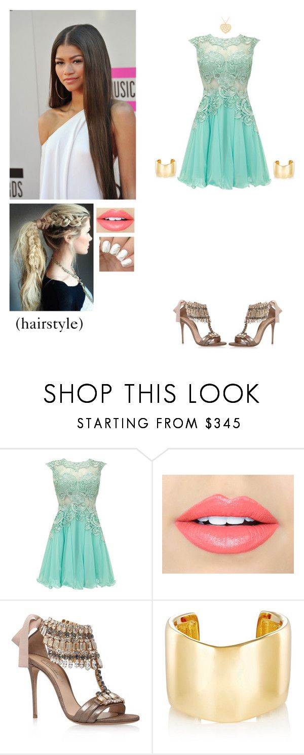 """""""Azalea, """"Set It Off"""""""" by locksley-cxli ❤ liked on Polyvore featuring Fiebiger, Casadei, Jennifer Fisher, NOVICA and Coleman"""