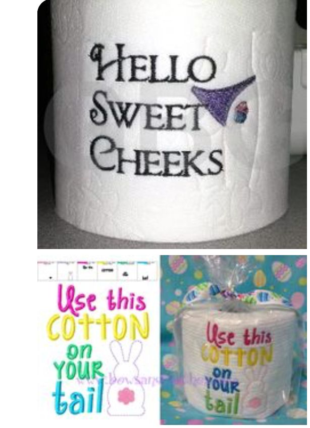 Pin by cheryl lanham on gag gifts pinterest toilet paper toilet gag gifts funny gifts easter decor easter ideas toilet paper rolls arizona cricut silhouette negle Gallery