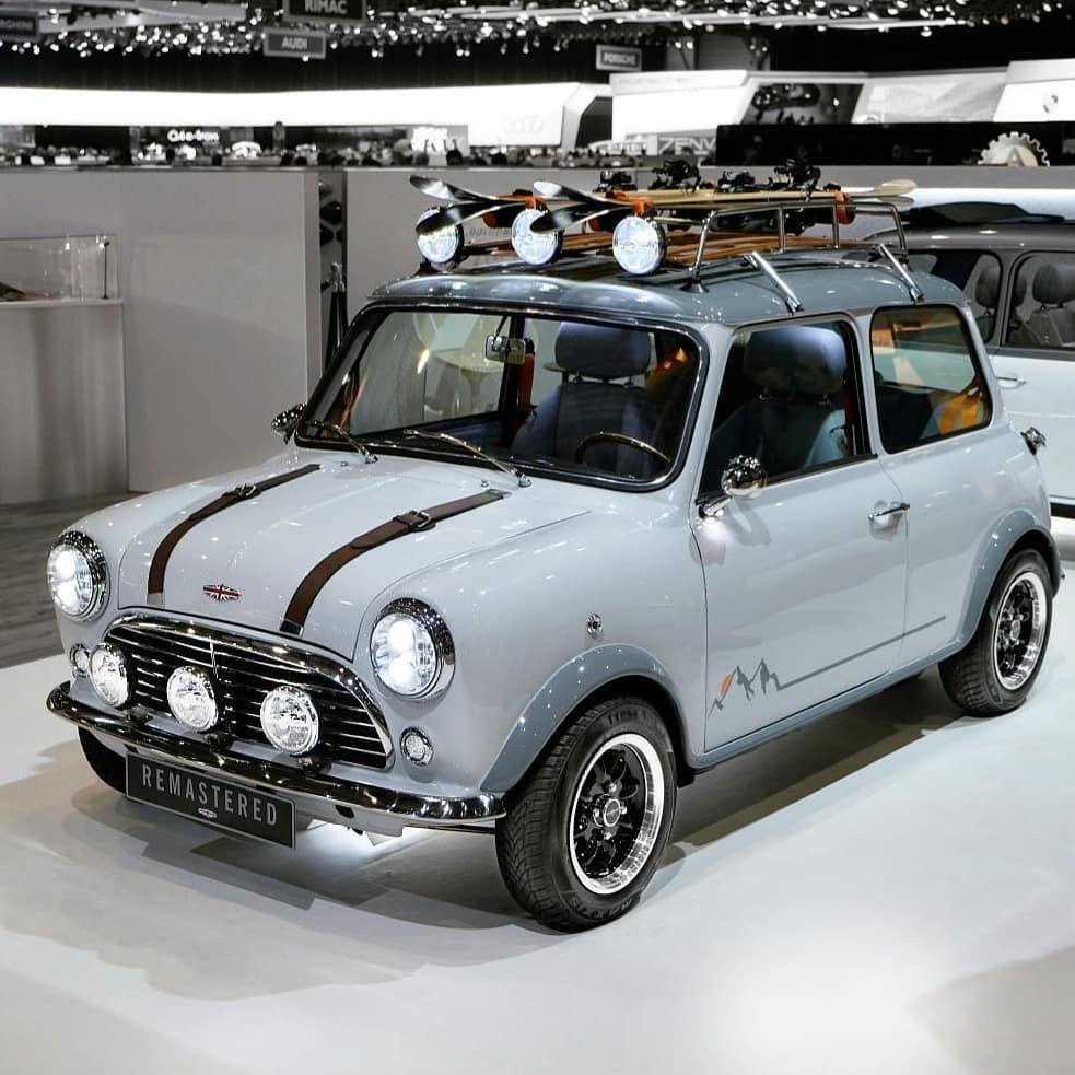 Cuɾѵinց Rօɑժs Nɑեiօղ On Instagram Mini Remastered By David Brown Do You Like It Mini Minicooper Austinmini In 2020 Mini Cooper Classic Mini Classic Mini