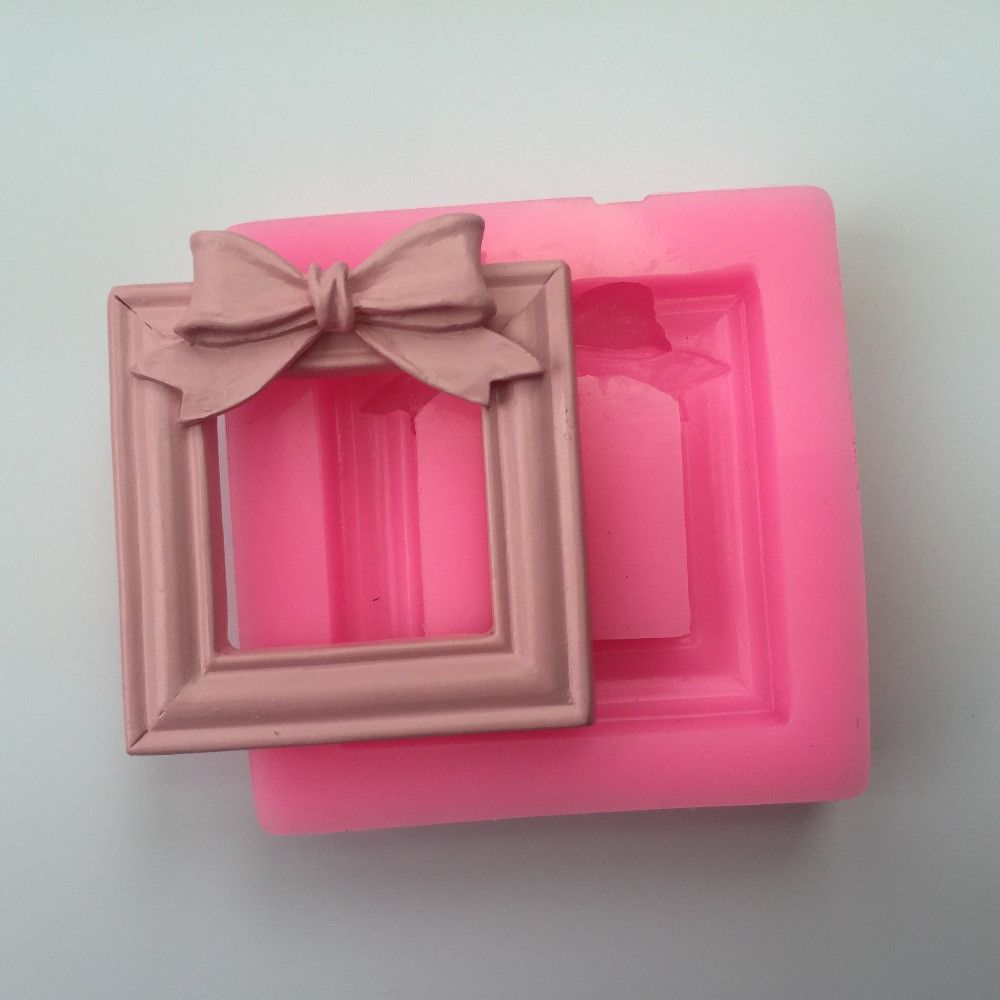 Vintage Bow Picture Frame Silicone Mold Vintage Picture Frames Frame Picture Frames