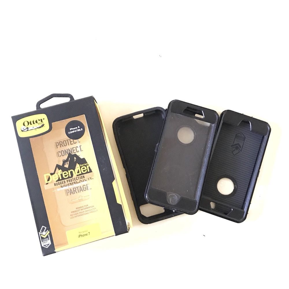 wholesale dealer 6222a 27281 OTTERBOX Defender Hard Case + Extra Pieces for iPhone 7 For Parts Or ...