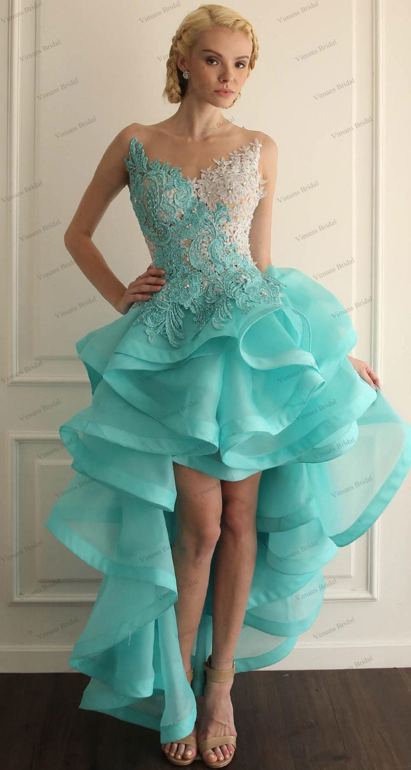 Online Buy Wholesale front short and long back asymmetrical prom ...