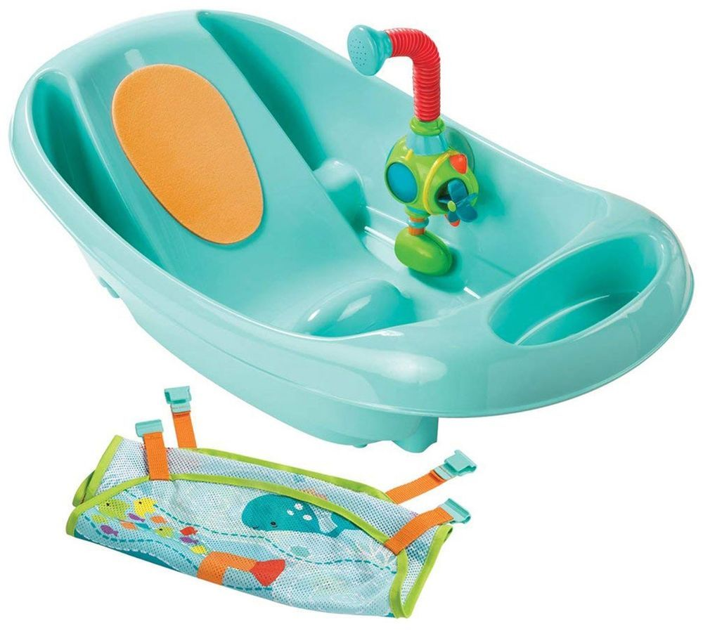 Summer Infant My Fun Baby Bath Tub Baby Bath Time Bnib