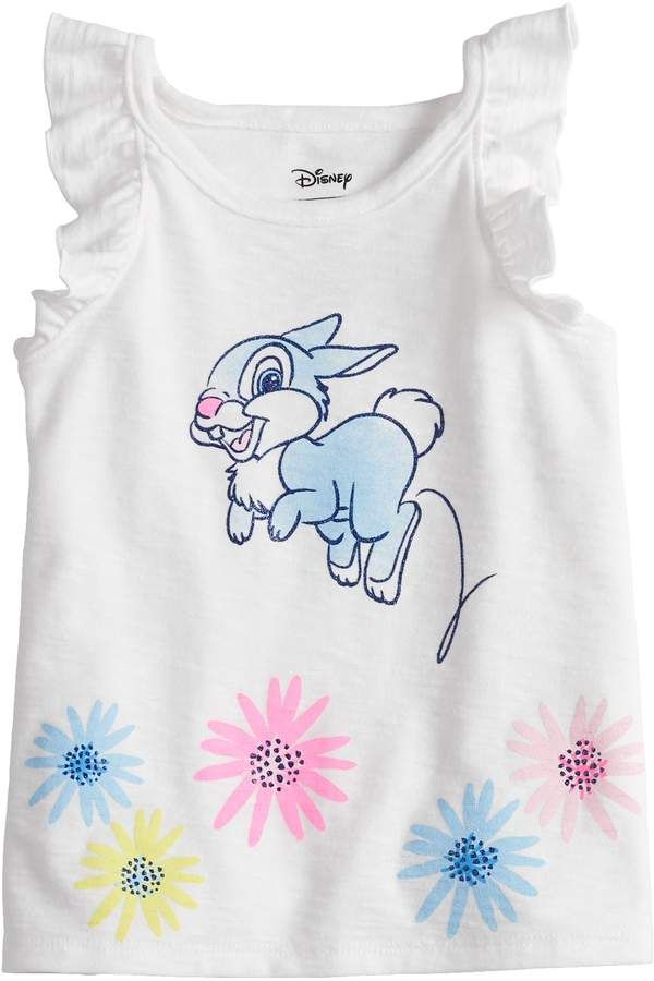 00d310adf882a Disneyjumping Beans Disney's Bambi Baby Girl Thumper Graphic Tank Top by  Jumping Beans #tank#Beans#Jumping