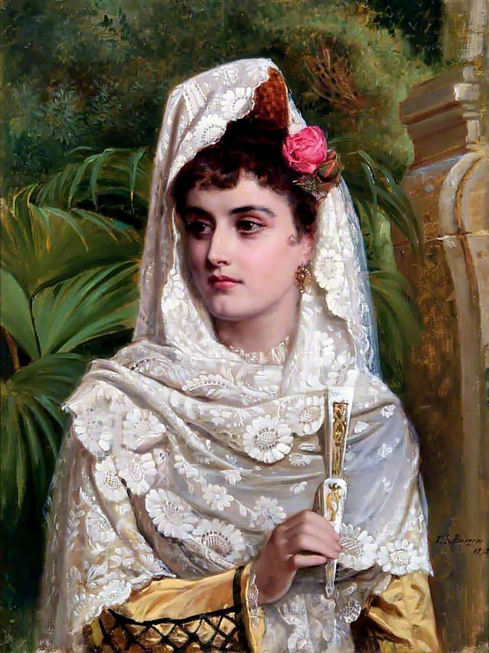 John Bagnold Burgess, RA (British 1830-1897)