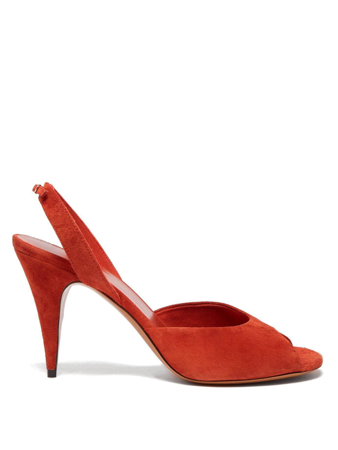 5ca6c3297a7 THE ROW Swing suede slingback sandals £725