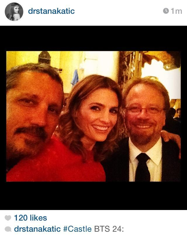 Rob, Stana and Andrew