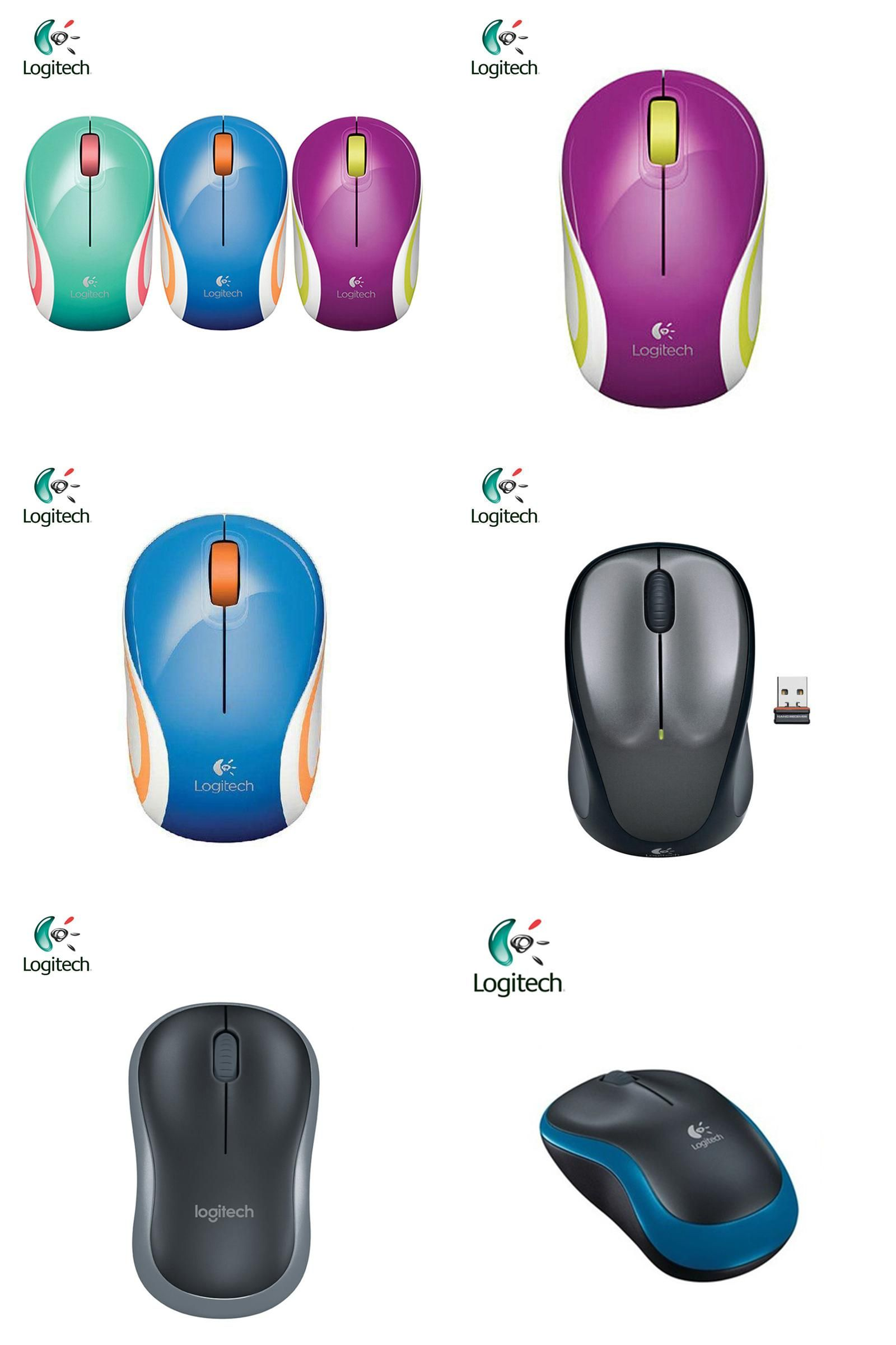 Visit to Buy] Logitech M187 Wireless Mouse with 2 4GHz USB