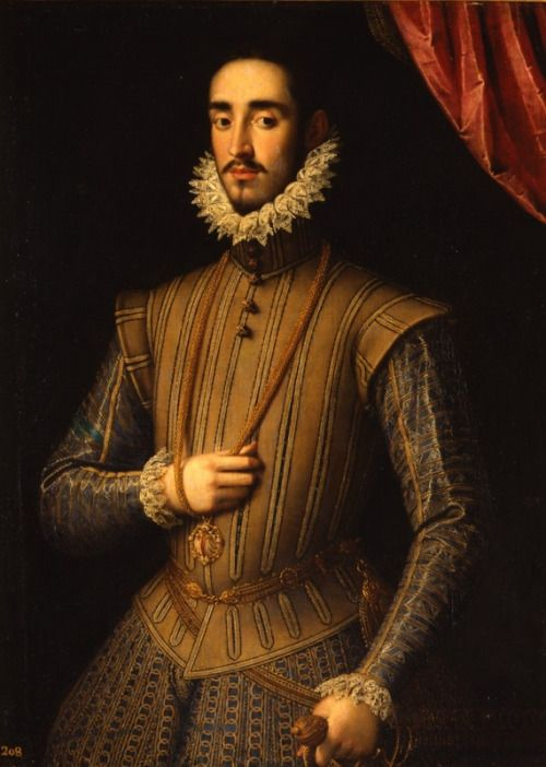 ab. 1575-1600   Juan Pantoja de la Cruz - Portrait of a Gentleman