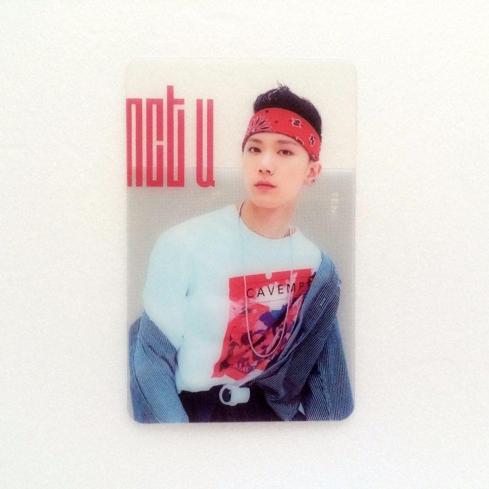 [Hot] SM Entertainment NCT U Fan Cafe Goods : NCT U Transparent Card 3