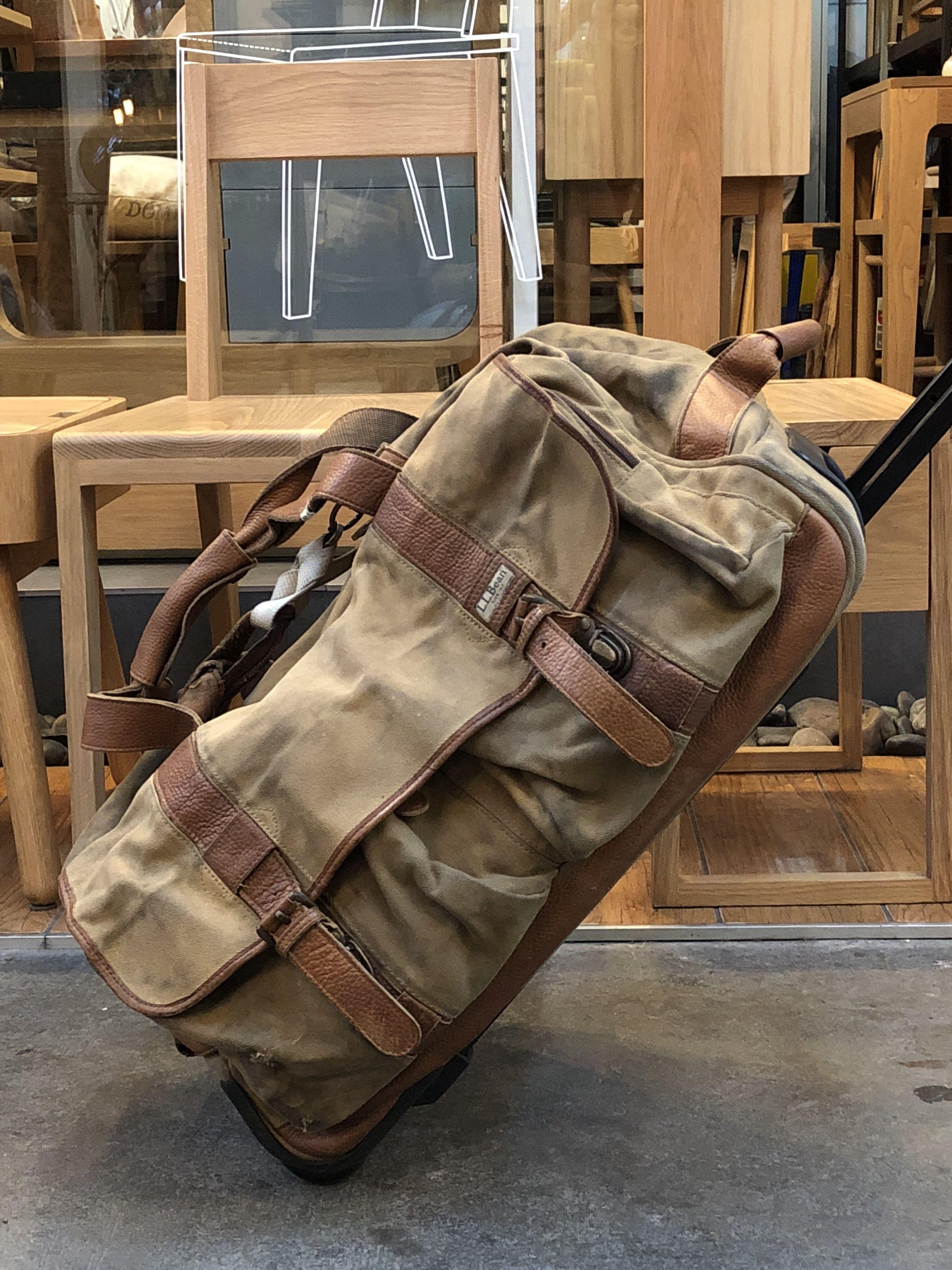 Vintage L L Bean Luggage Dorozhnye Sumki Sumki
