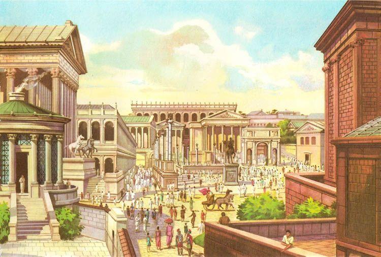 Forum Romanum   Roman Vistas   Roman empire, Ancient roman ...