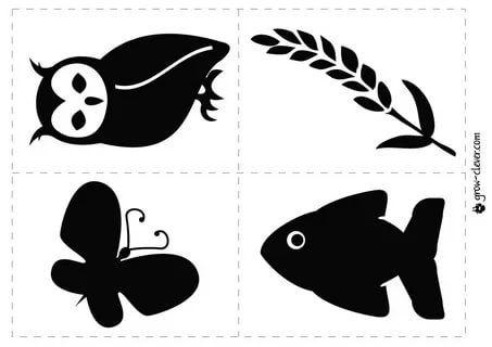 почему используются черно-белые изображения для детей: 7 ...