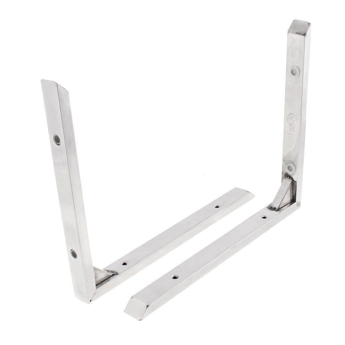 Amazon.com: Stainless Steel 90 Degree Corner Angle Bracket 12 ...