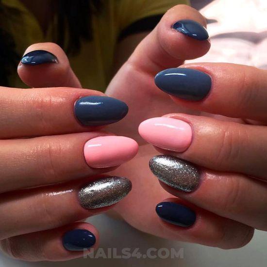 75 Cute Almond Nail Designs You'll Want to Try / #almond #naildesigns #nails  #acrylicnails #cutie #naildiy Wonderful & balanced parisian manicure art  design - 75 Cute Almond Nail Designs You'll Want To Try Almond Nail Designs
