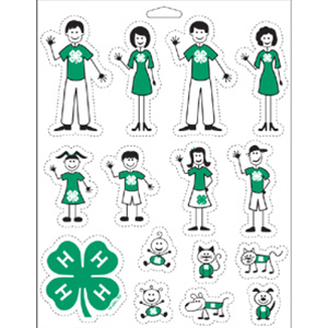 New 4-H Family Car Decals!