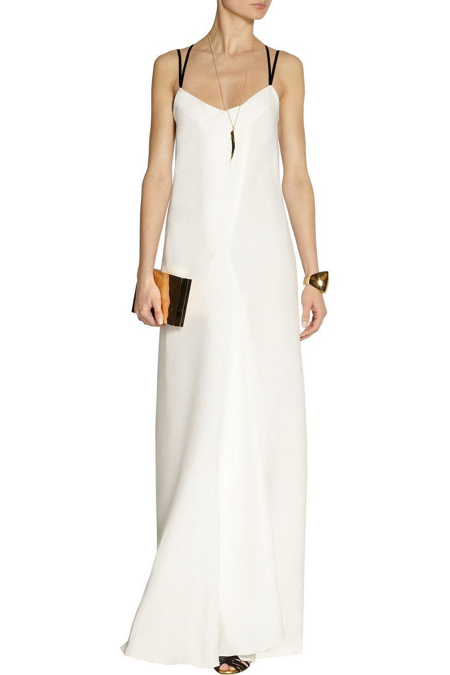 Maiyet linenblend slipstyle maxi dressclose up style