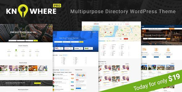 Download Knowhere - Multipurpose Directory WordPress Theme Nulled ...