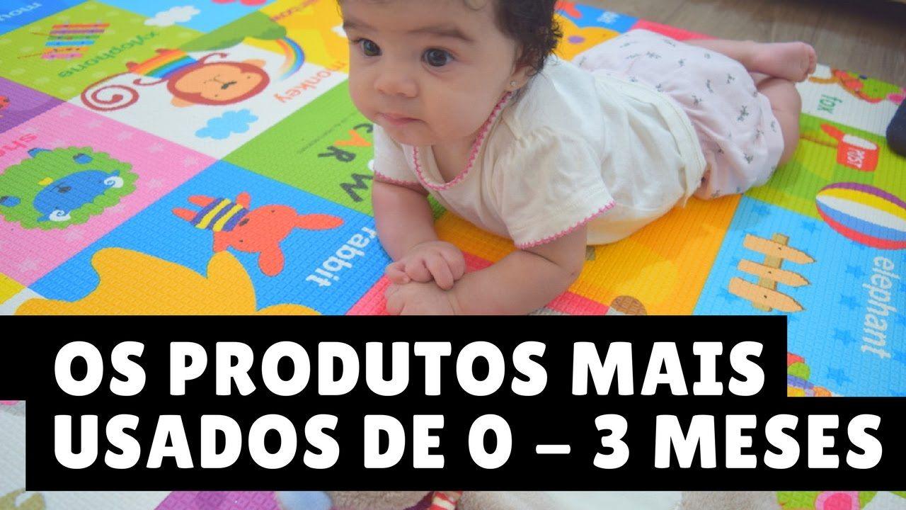 Os Produtos Mais Usados Nos Primeiros 3 Meses Do Bebe Maternidade