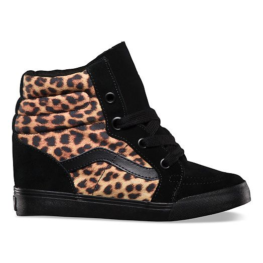 Vans Wedges.  Yes. ...I am short and I want/need to be taller.