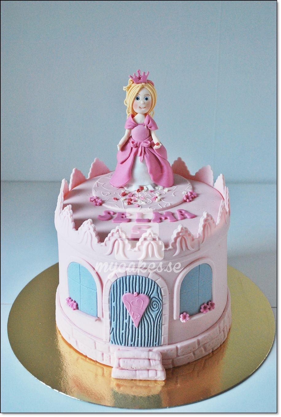 Princesscake For A Little Girl Princess Birthday Cake Baby