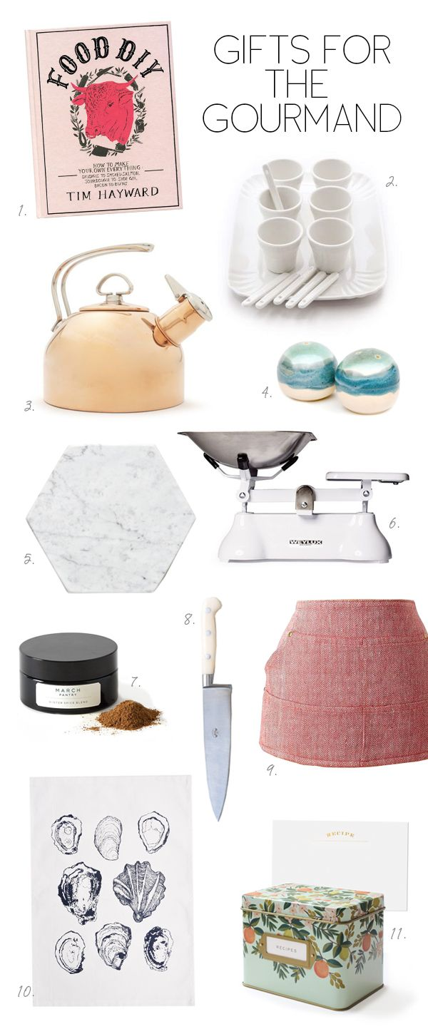 coco+kelley gift guide for the chef // cook // gourmand