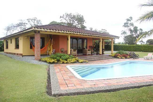 Resultado de imagen para casa campestre con piscina mi casa de campo pinterest porch - Porches de casas de campo ...