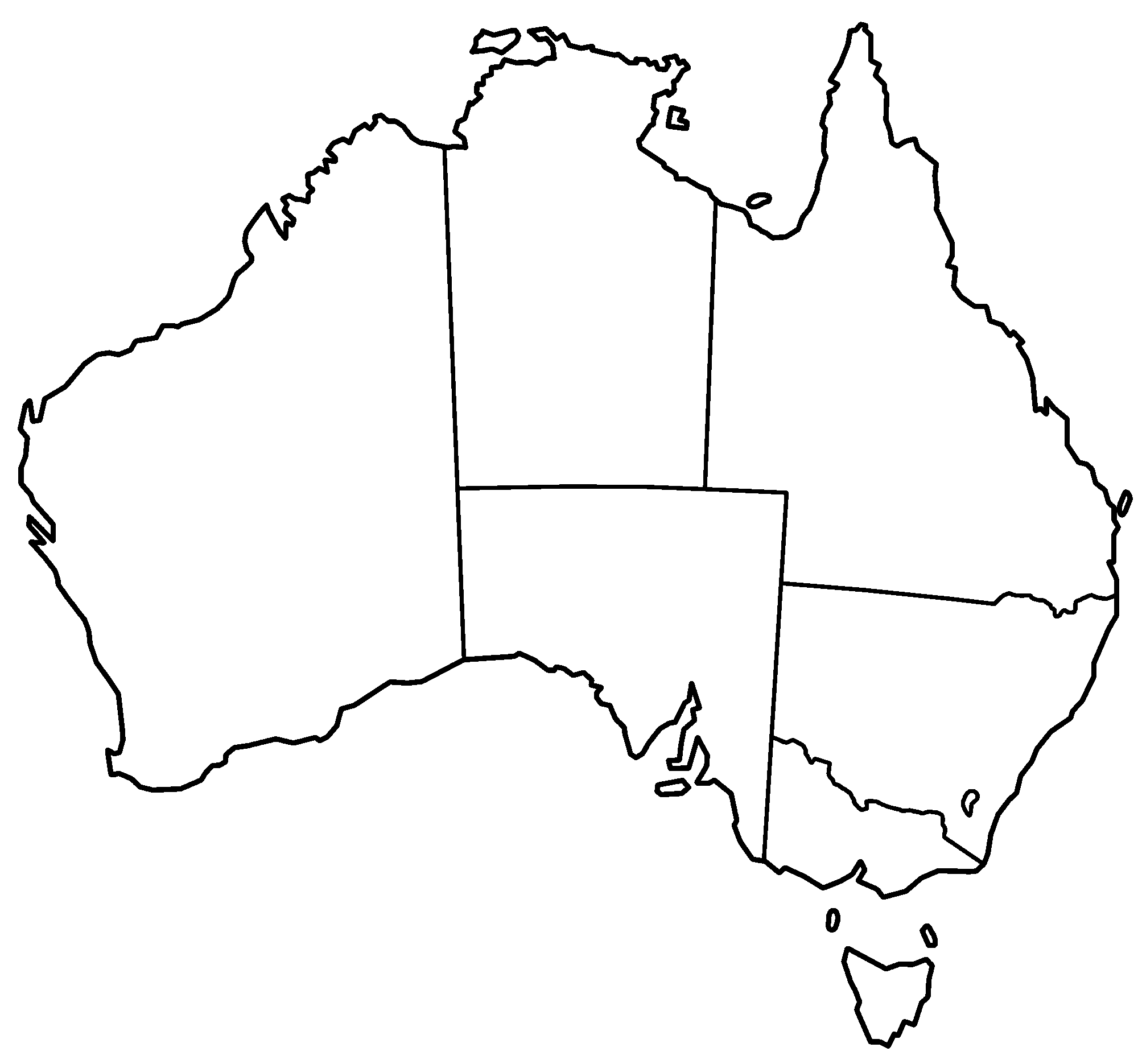 Map Of Australia Drawing at GetDrawings.com | Free for personal use ...