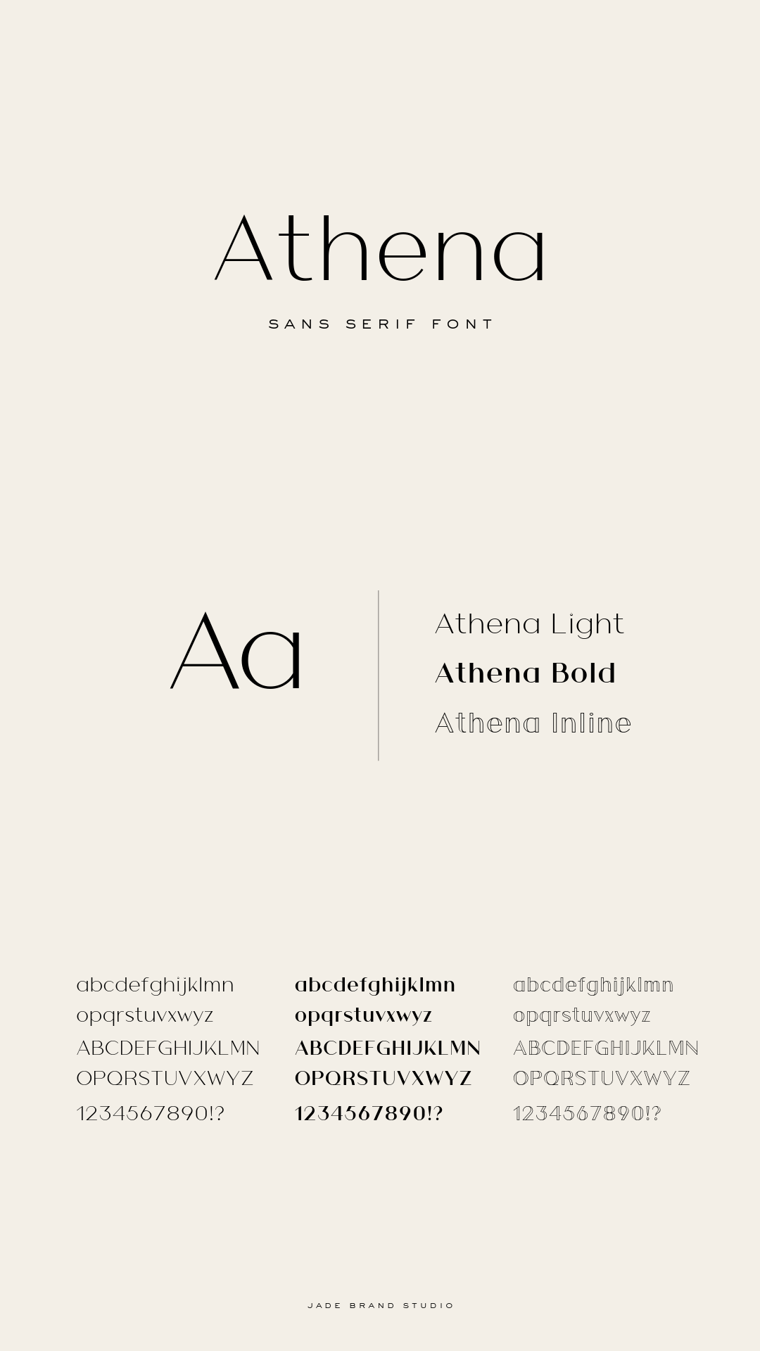 Athena Font Lettering Fonts Typography Fonts Typography