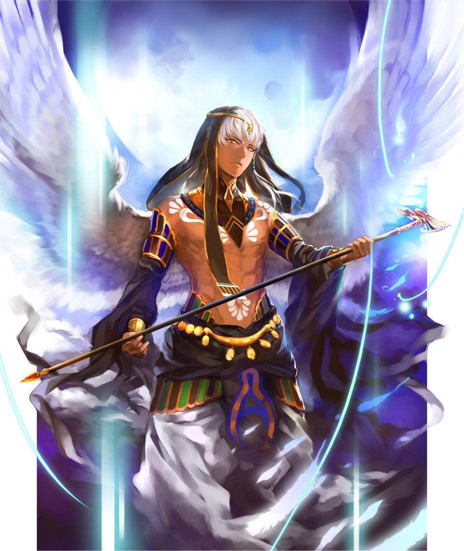 Картинки аниме про богов