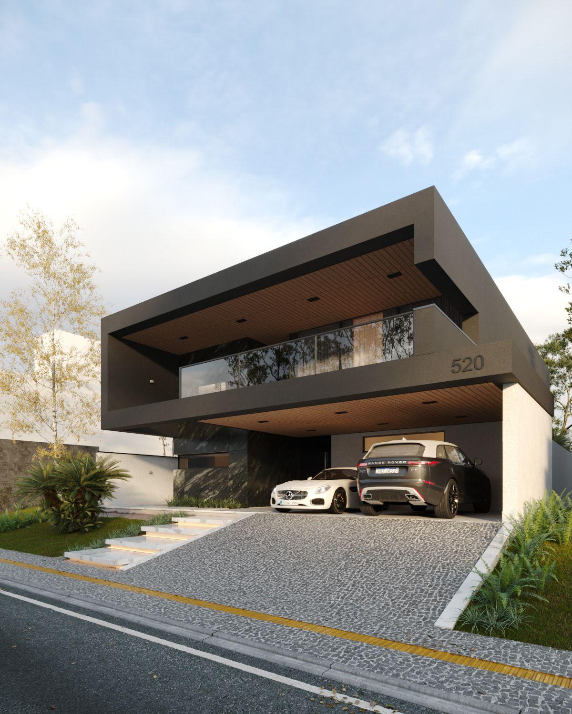 Render - Residence AT00 on Behance