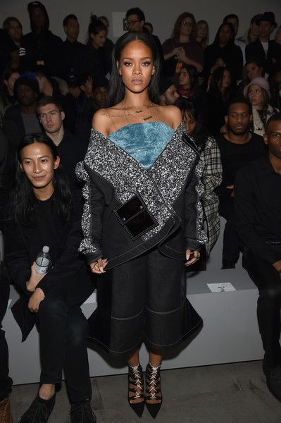 Rihanna at the adidas Originals x Kanye West YEEZY SEASON 1 - Front Row & Backstage