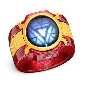 Marvel Iron Man 3 Led Arc Reactor Ring Iron Man Arc Reactor Iron Man Arc Reactor