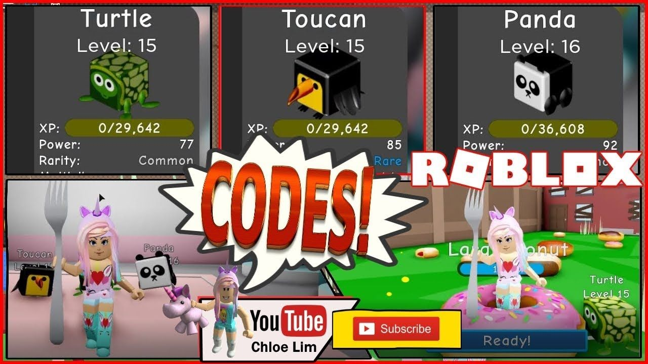 🍰 Roblox Dessert Simulator! 2 Codes! EATING LOTS OF CAKES