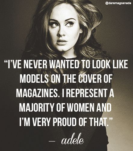 Image result for adele quotes body positivity