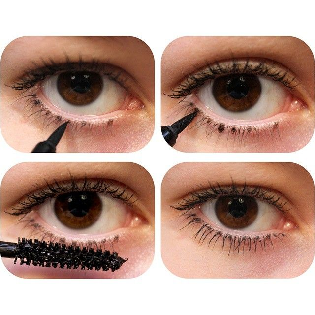 Tip Draw Bottom Lashes For A Fuller Effect Thebeautyspotqld