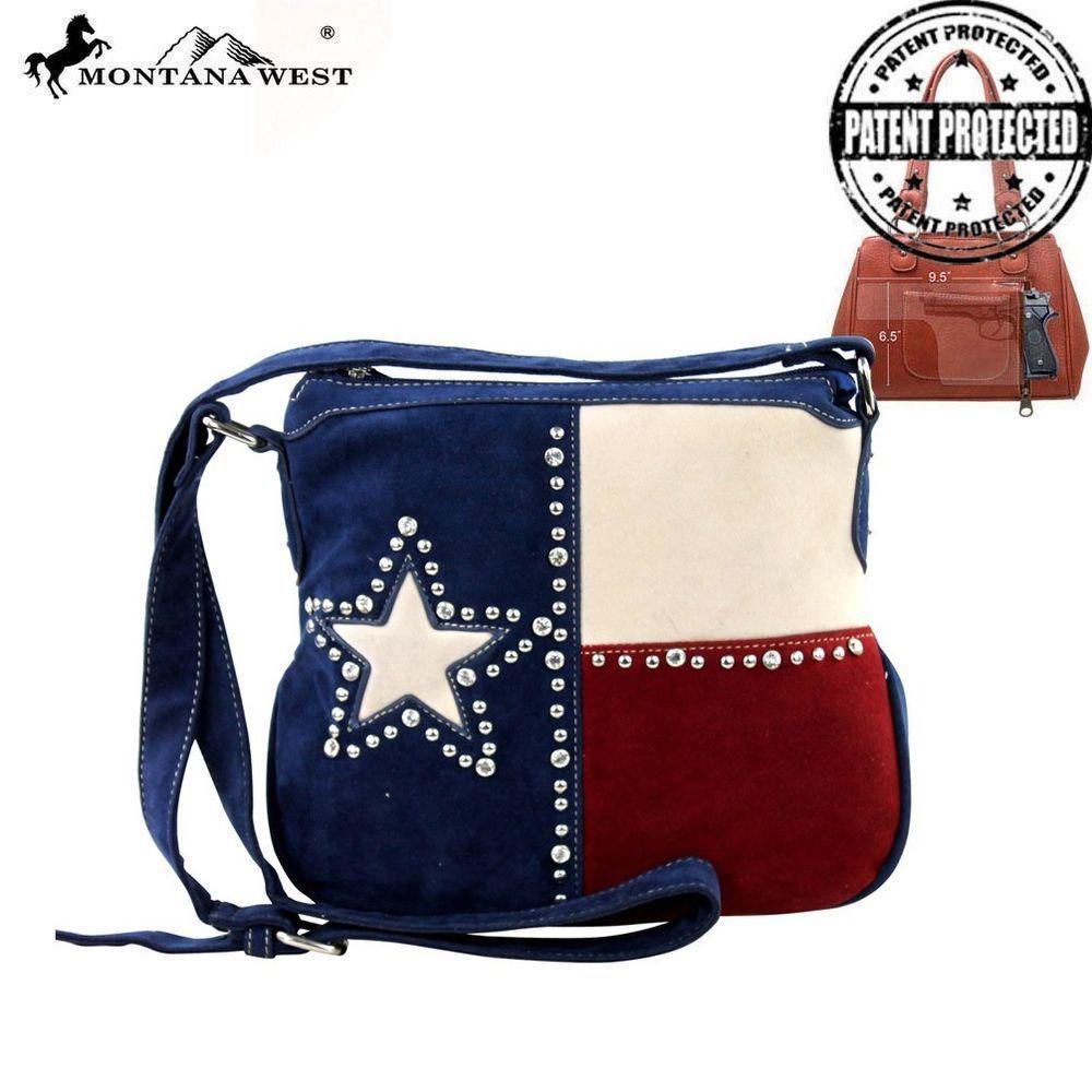 Nwt Montana West Texas Star Flag Crossbody Handbag Purse Free Shipping Purses Bags Shoulder Bag Men