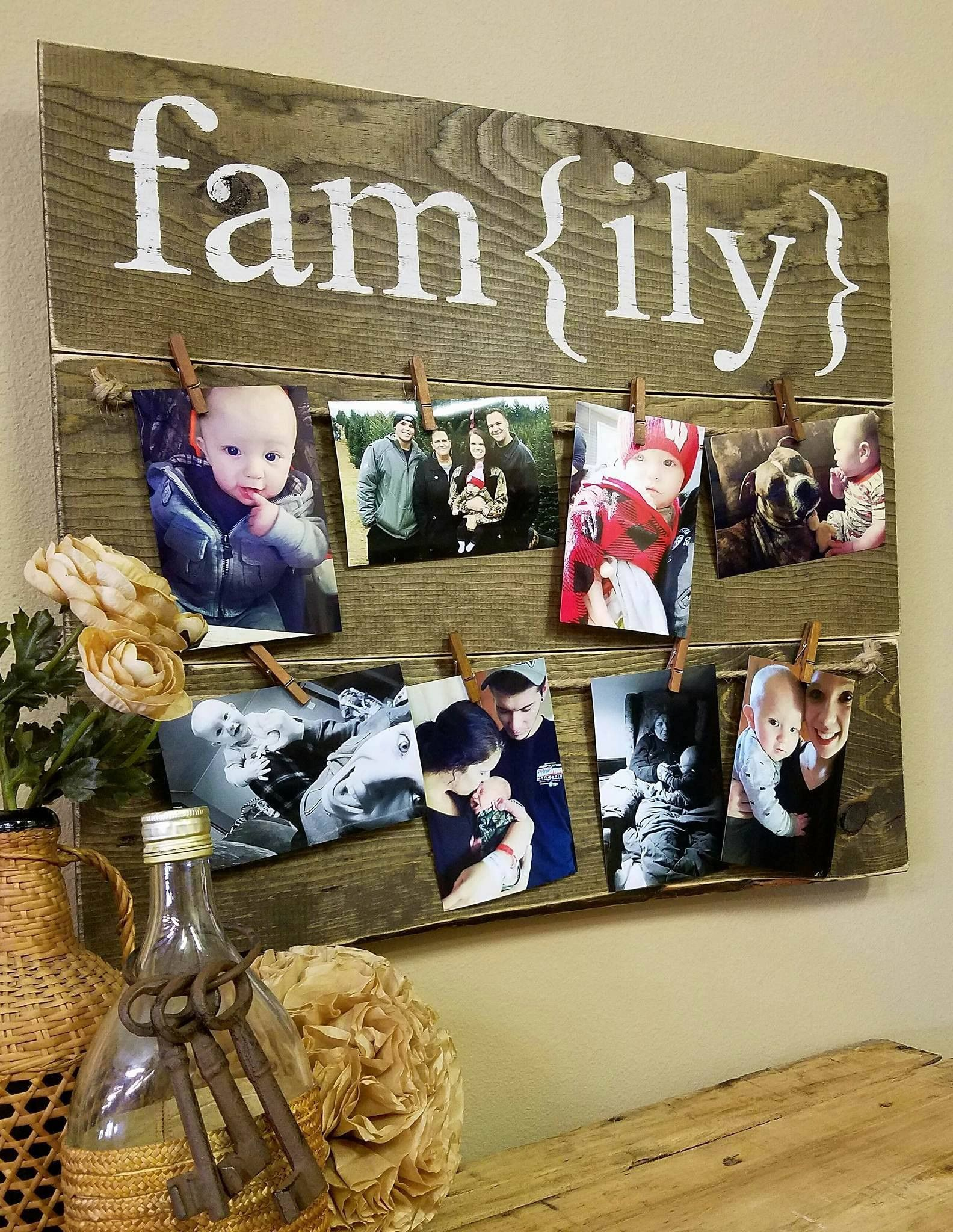 Fam{ily} : Photo Board
