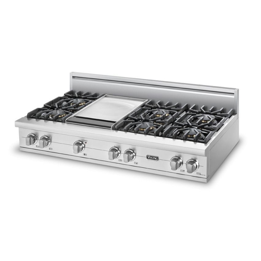 viking 48 inch cook top 6 burner with 12 gas stove viking e64 top