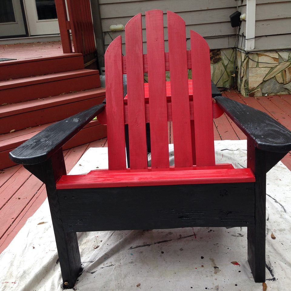 We Built And Painted This Beautiful Chair! Let's Go
