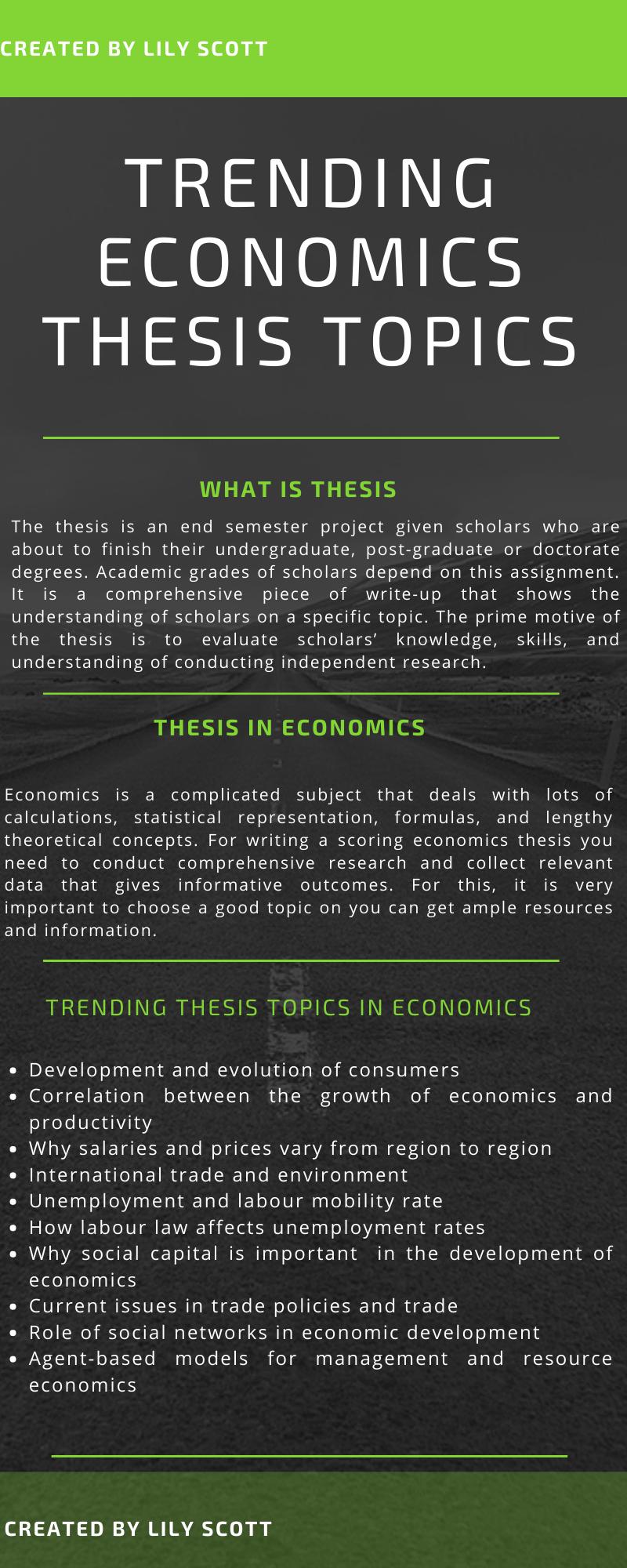 Best Economic Thesi Topic Writing Services International Dissertation Topics