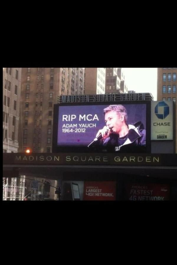 Madison Square Garden tribute to Beastie MCA.